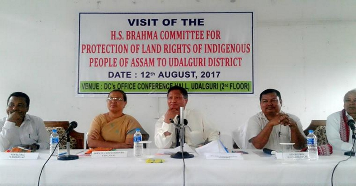 Brahma committee redefines basic elements of 'Indigenous' individual to Assam
