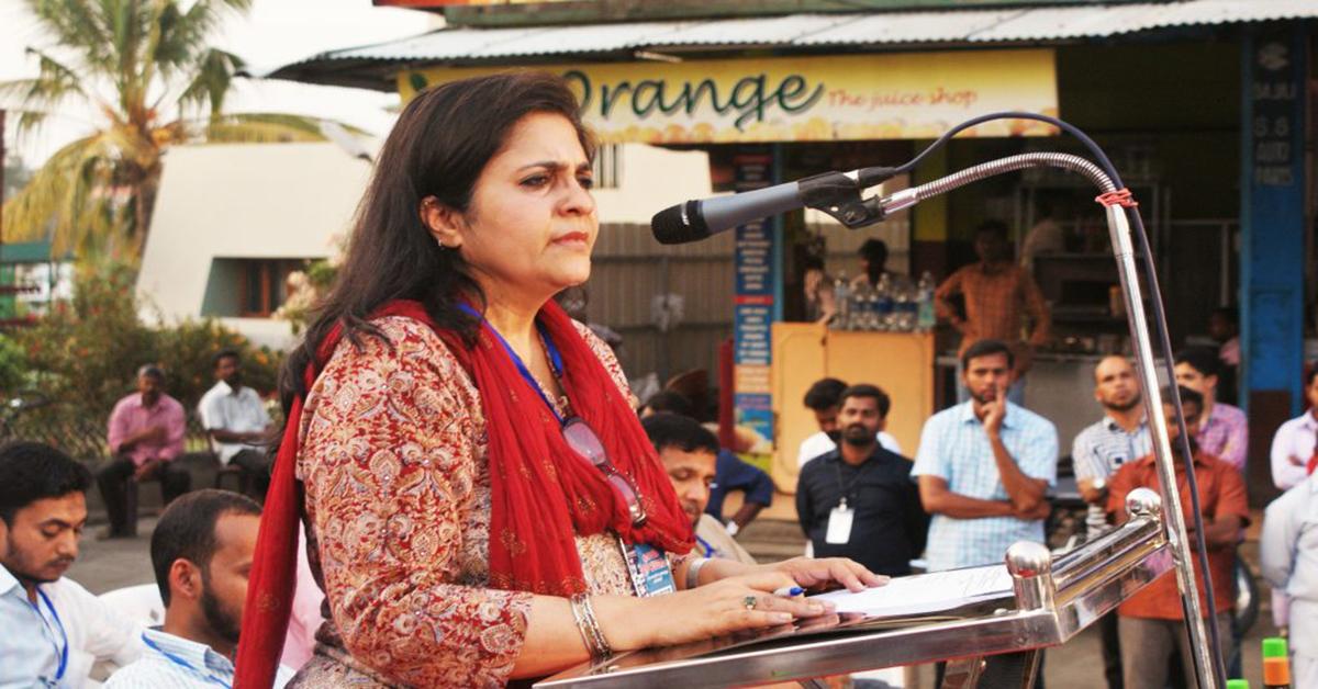 CJP IN ACTION: Teesta Setalvad conducts an awareness workshop on CAA-NRC-NPR in Mumbra