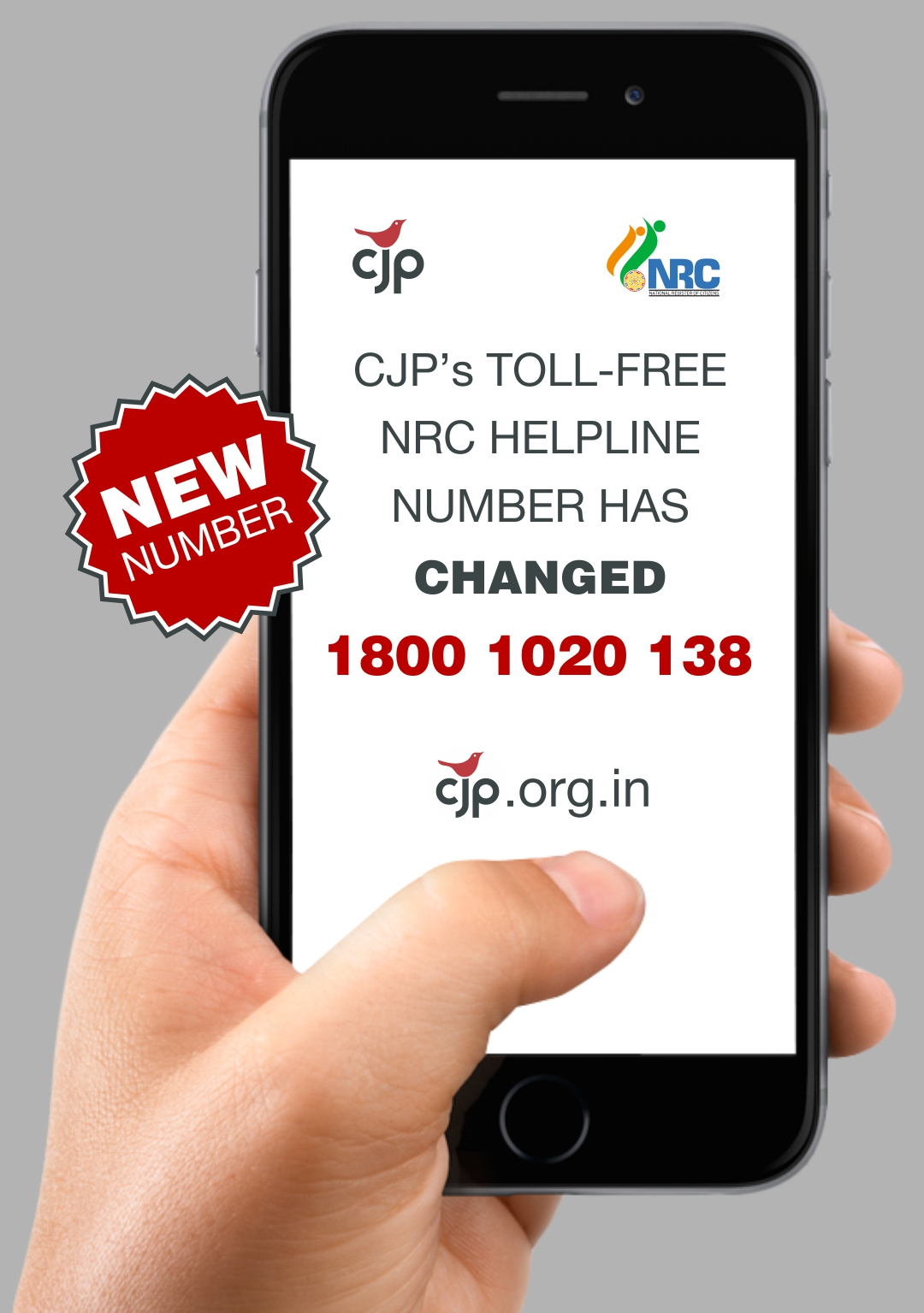 CJP TOLL FREE ENGLISH