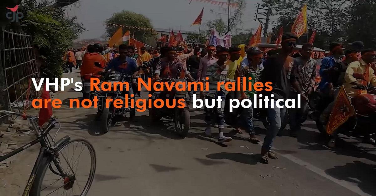 Stop VHP's Ram Navami Yatras in Bengal