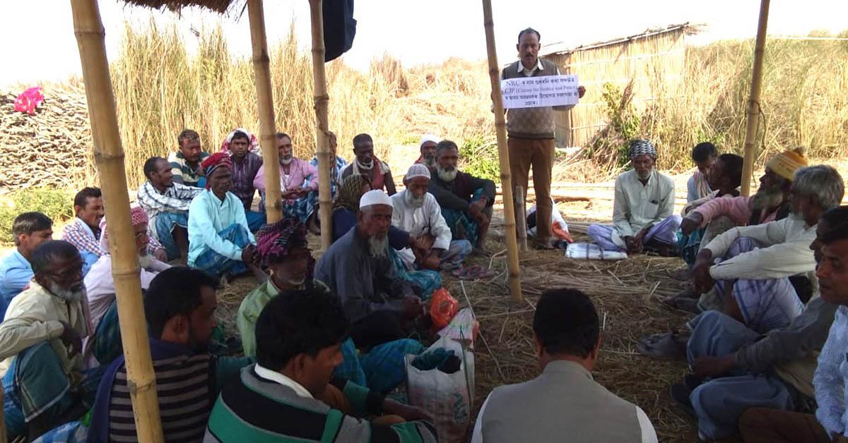 CJP इन एक्शन – प्रभावित परिवारों को सुनवाई के दौरान मिला सहारा