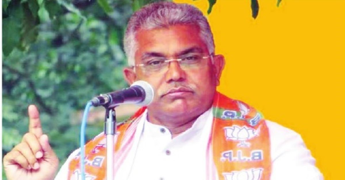 In bizarre comment, BJP leader, Dilip Ghosh, asks beef eaters to eat dog meat