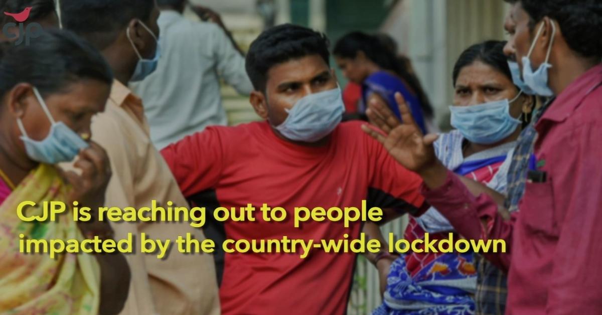 Coronavirus Pandemic: CJP appeals for relief