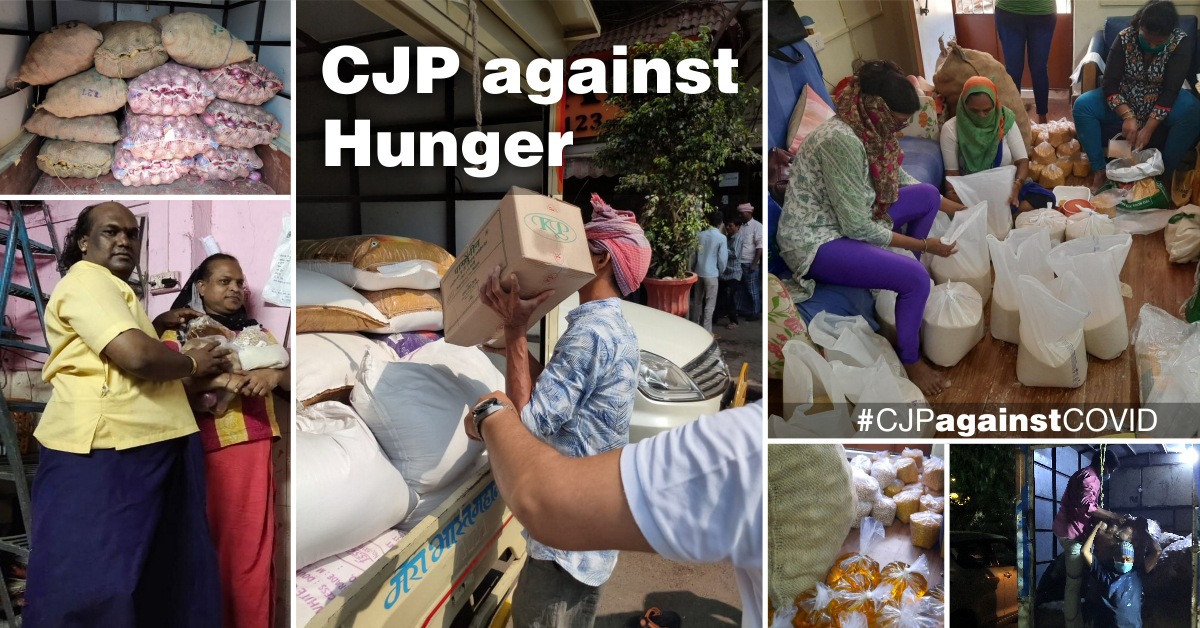 CJP against Hunger: Our relief efforts during the Covid-19 lockdown
