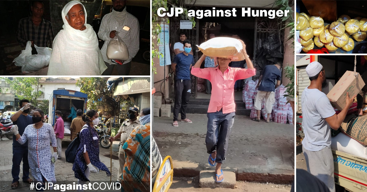 CJP against Hunger: Overcoming hurdles to serve the needy