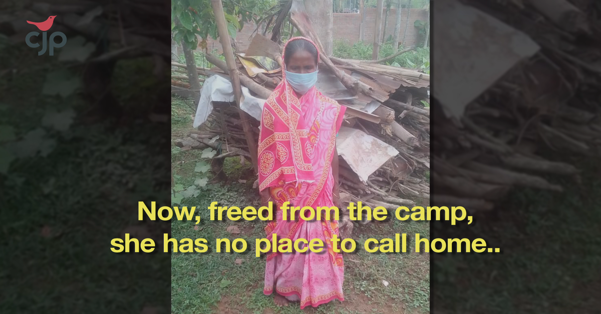 CJP Assam: Halima Begum released after 4 years in detention camp