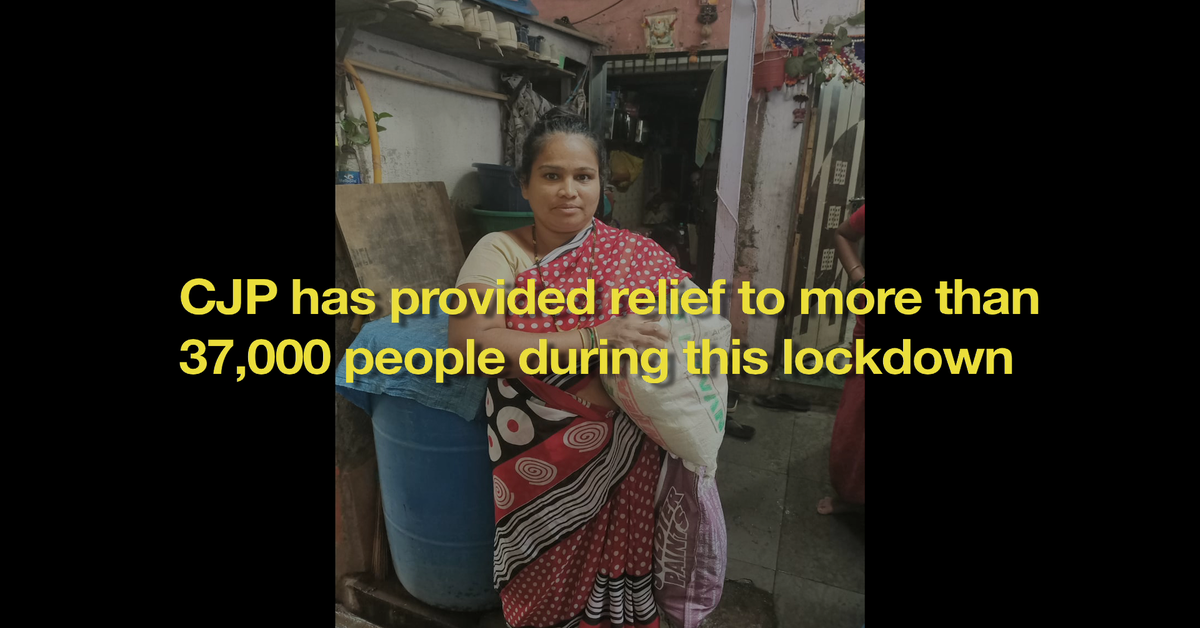 Lockdown relief: Our partners have helped us make a difference on ground