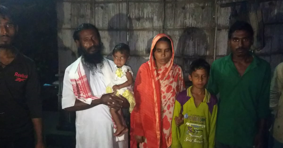 CJP Impact: Mother of five becomes 32nd inmate to be released from Assam Detention Camp