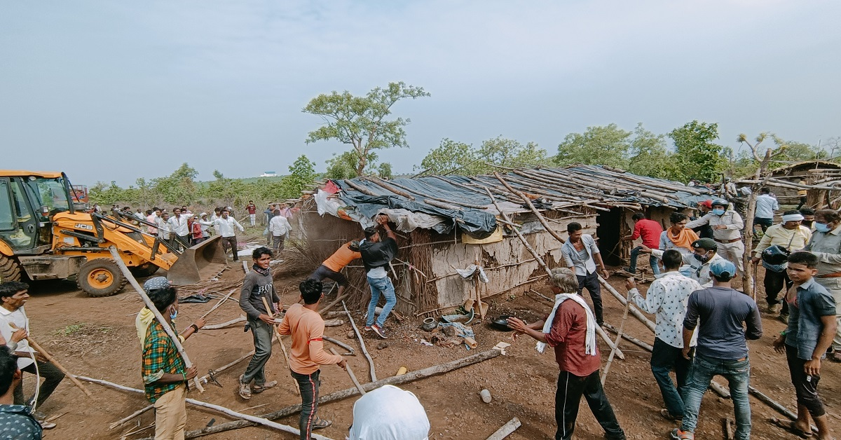 Gov't doesn't really care about us: Forcibly evicted Khandwa Adivasis