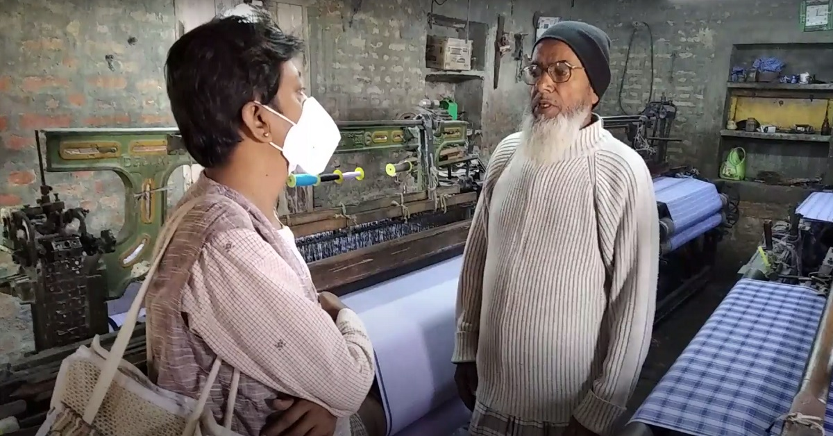 Lockdown impact: Lungi weavers left in the lurch