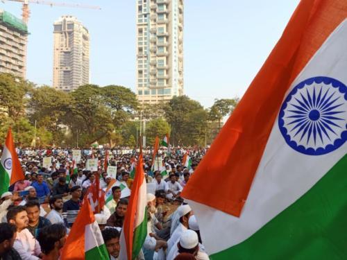Mumbai protest against CAB/CAA/NRC - Dec 19, 2019